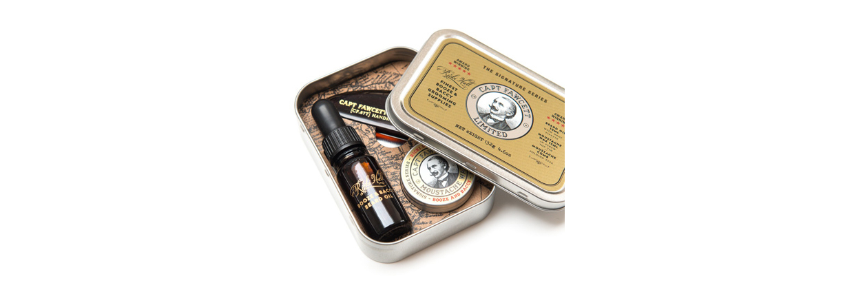 Captain Fawcett Grooming Survival Kit