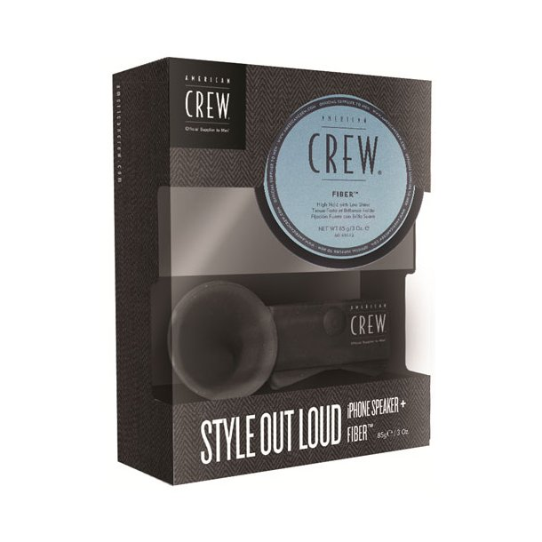 American Crew Style Out Loud, Iphone speaker + Fiber 85g