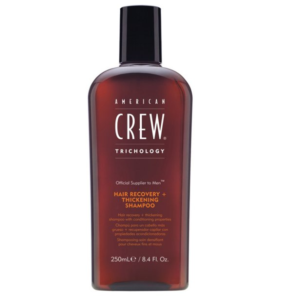 American Crew Trichology Hair Recovery+ Thickening Shampoo 250ml