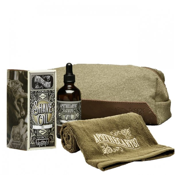 Apothecary87 Dopp Bag Shave kit