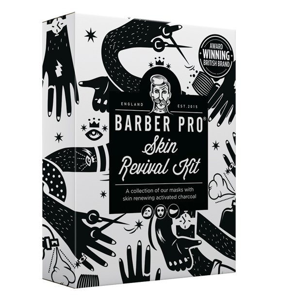Barber PRO Skin Revival Kit