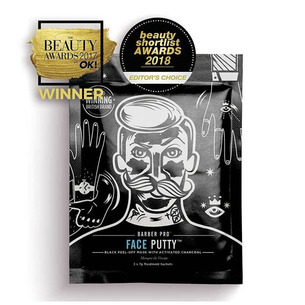 Barber PRO Face Putty Mask (3 x 7g)