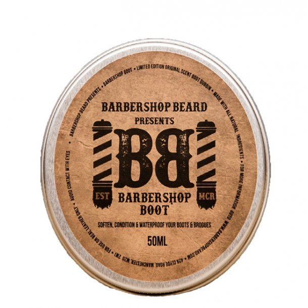 Barbershop Beard Boot Dubbin Original Scent læderfedt 50ml