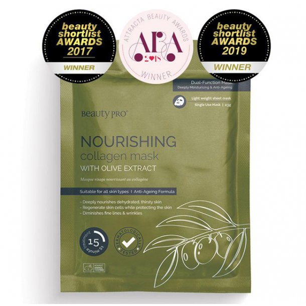 Beauty PRO Nourishing collagen mask 23g