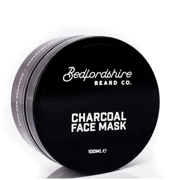 Bedfordshire Beard Co Charcoal Face mask 100ml