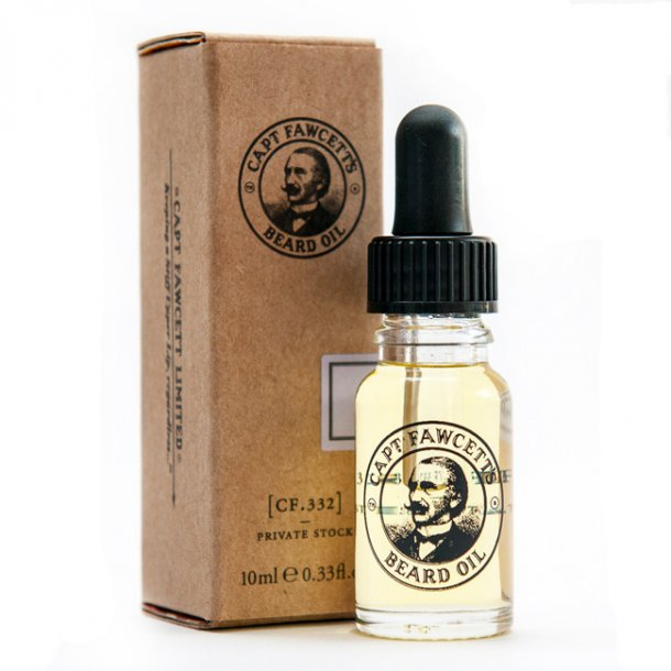 Captain Fawcett Private Stock Beard Oil skægolie 10ml