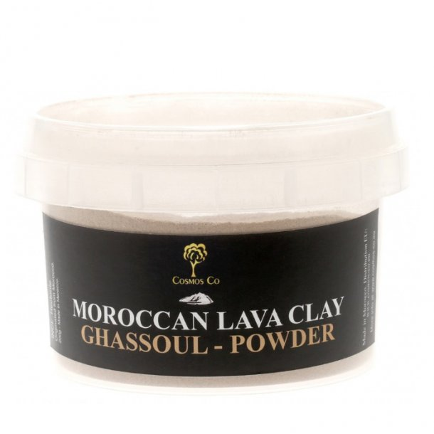 Cosmos Co Moroccan Lava Clay Ghassoul-Powder 200gr
