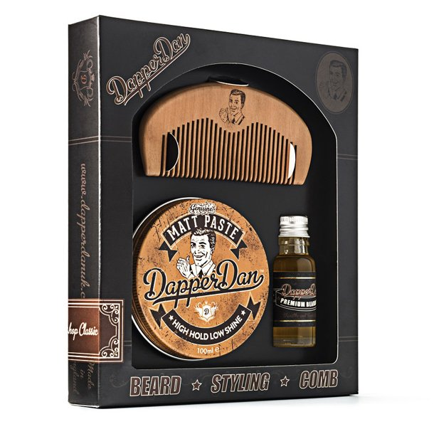 Dapper Dan gavesæt Beard & Hair Matt Paste