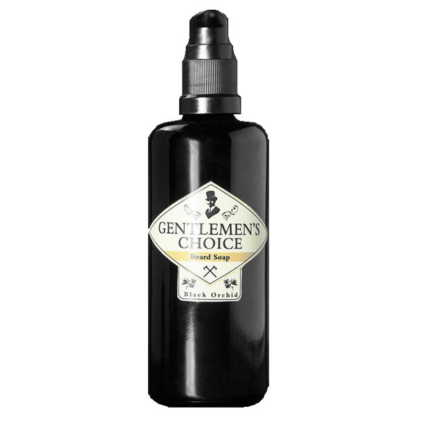 Gentlemen's Choice Black Orchid skægshampoo 100ml