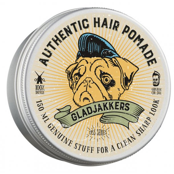 Gladjakkers Authentic Hair Pomade 150ml