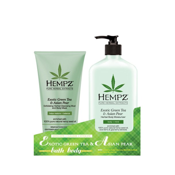 Hempz Exotic Green Tea & Asian Pear DUO sæt