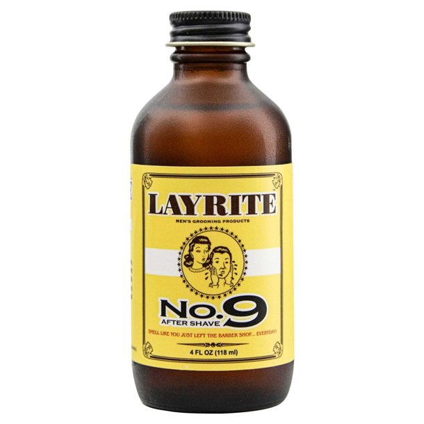 Layrite No 9 Bay Rum Aftershave 118ml