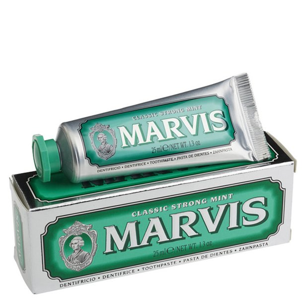 Marvis Classic Strong Mint tandpasta 25ml TRAVEL