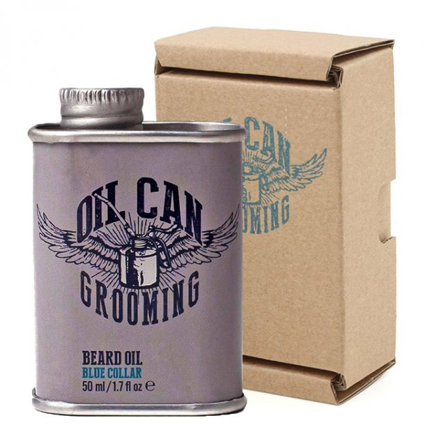 Oil Can Grooming skægolie Blue Collar 50ml