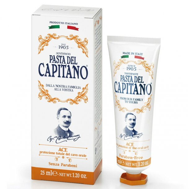 Pasta del Capitano tandpasta ACE 25ml TRAVEL