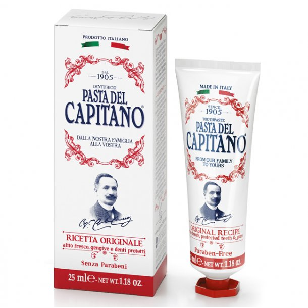 Pasta del Capitano tandpasta Original Recipe 25ml TRAVEL