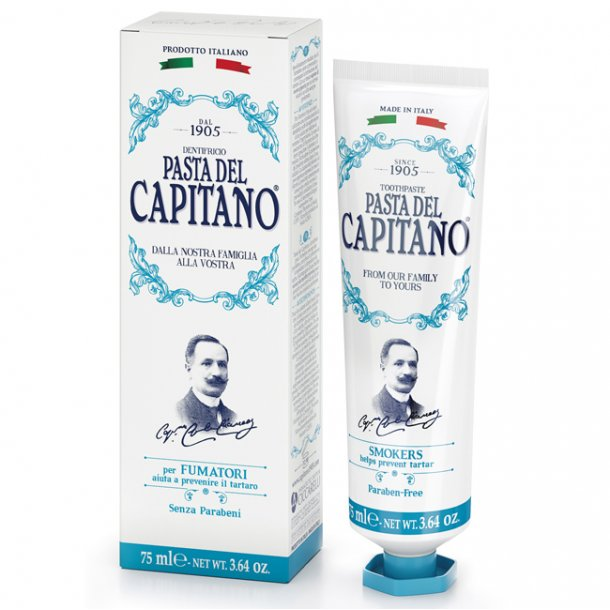 Pasta del Capitano tandpasta Smokers 75ml