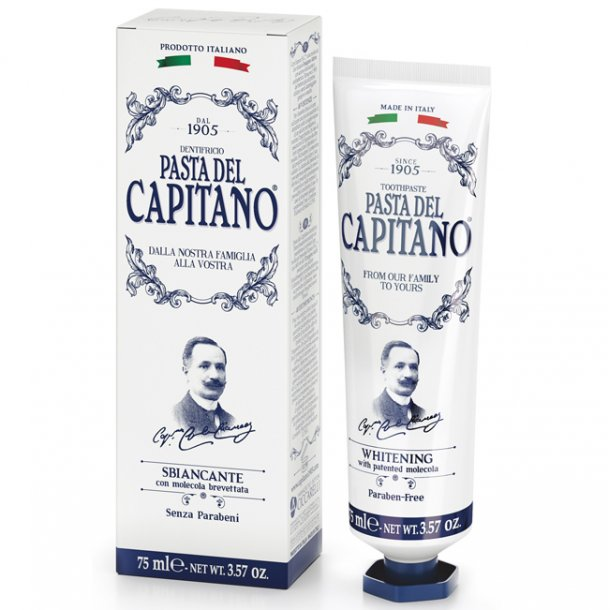 Pasta del Capitano tandpasta Whitening 75ml