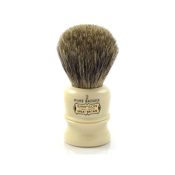Simpsons The Duke Pure Badger D2 barberkost 90mm