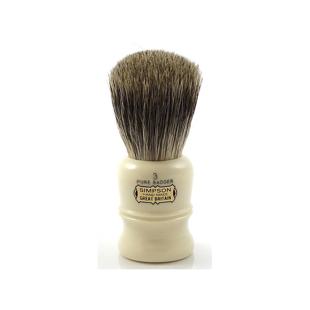 Simpsons The Duke Pure Badger D3 barberkost 95mm