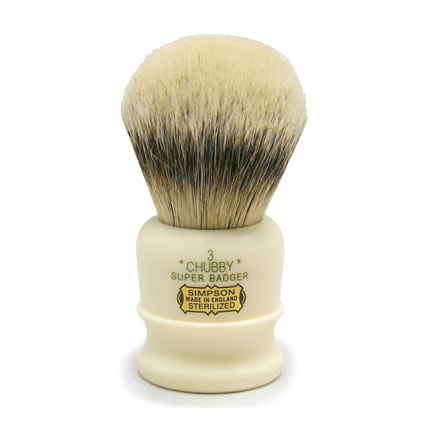 Simpsons Chubby Super Badger CH3 barberkost 105mm