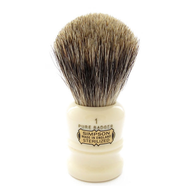 Simpsons The Duke Pure Badger D1 barberkost 85mm