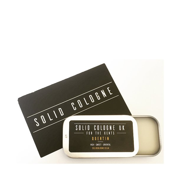 Solid Cologne UK, Quentin voksparfume 18ml