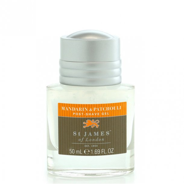St. James of London Mandarin & Patchouli Post-Shave Gel 50ml